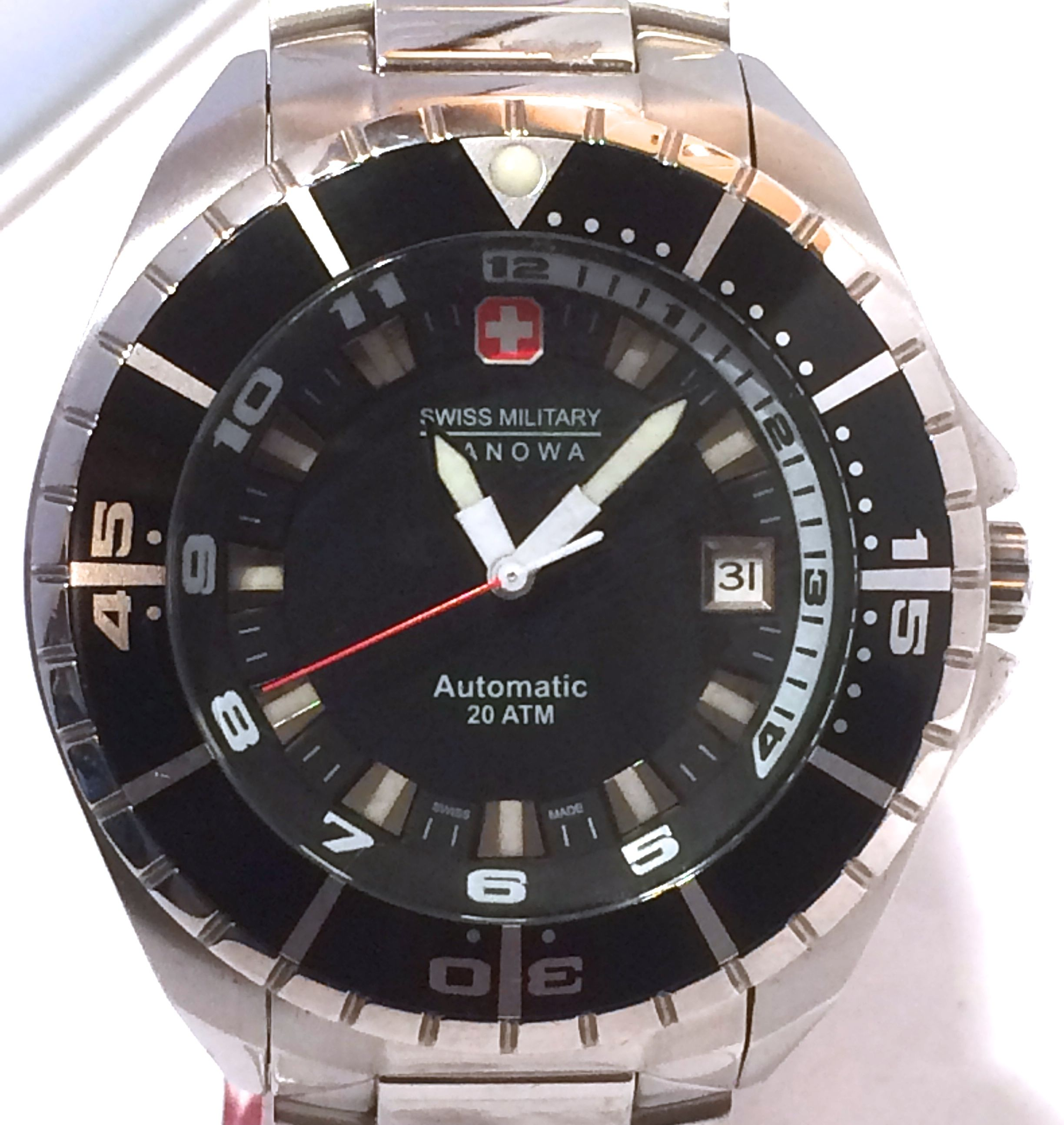 Swiss Military Hanowa Sealander Automatic Diver Watch