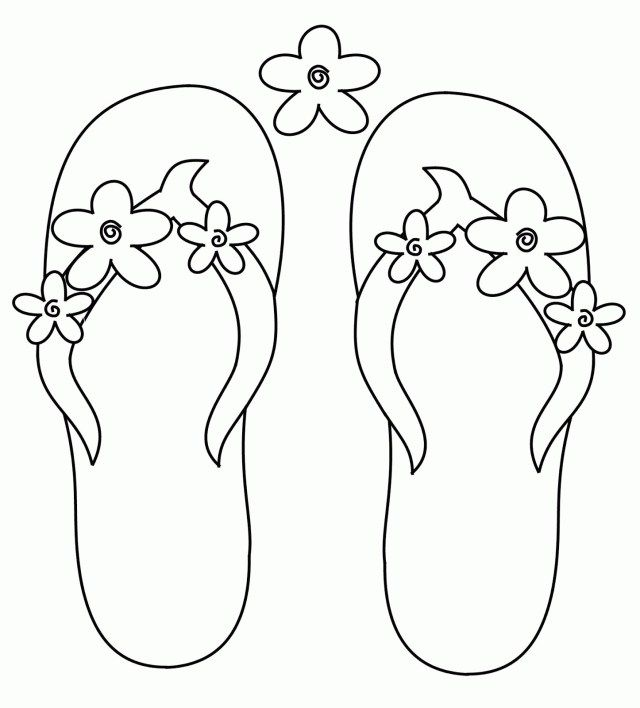 Wonderful Photo Of Flip Flop Coloring Pages Entitlementtrap Com Summer Coloring Pages Flip Flop Craft Coloring Pages