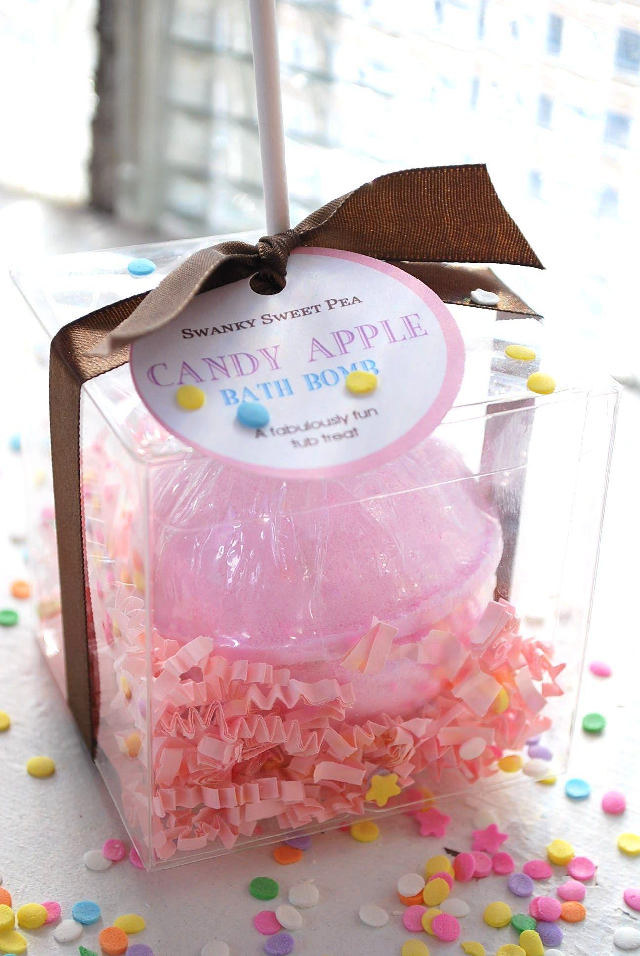 CANDY APPLE BOMB | Bath Bomb Press | Pinterest | Candy apples, Bath ...