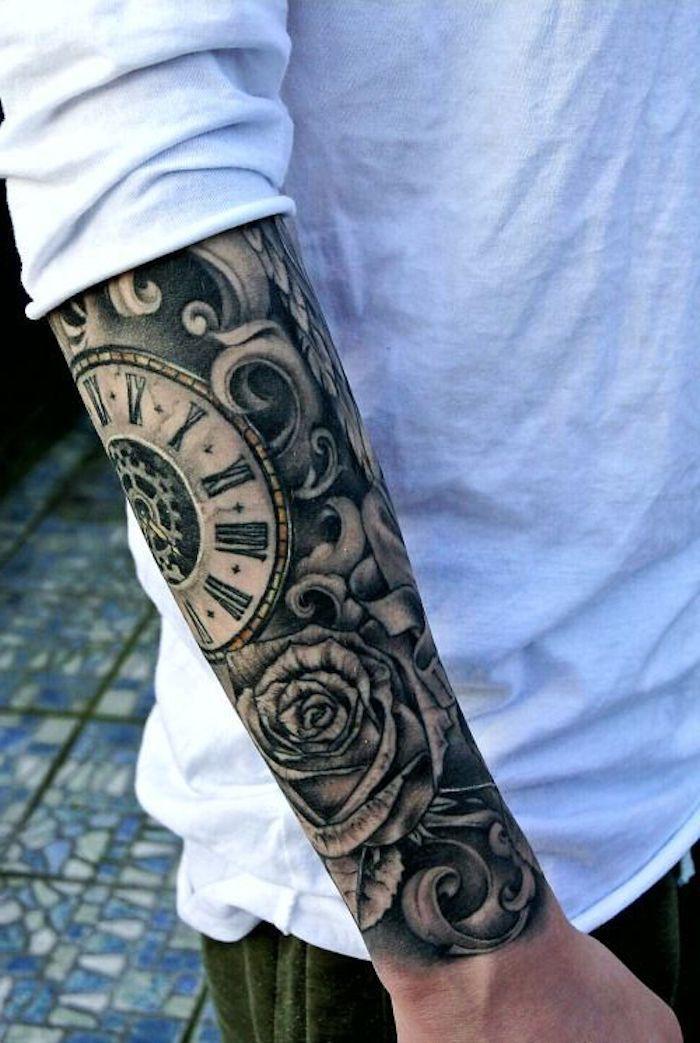 1001 mod les de tatouage homme uniques et inspirants design tattoo tatouage homme et beaux - Tatoo homme bras ...