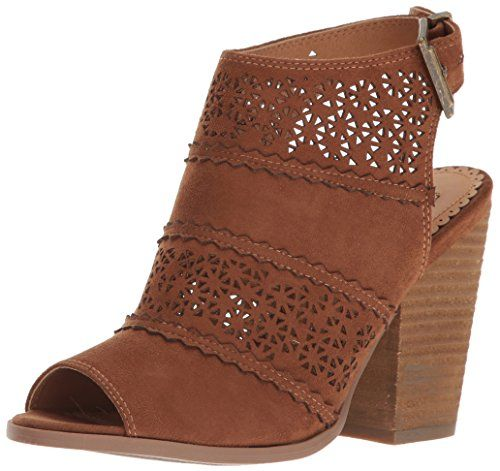 Not Rated Women's Girl B Flossin Ankle Bootie, Tan, 6.5 M-$49.30