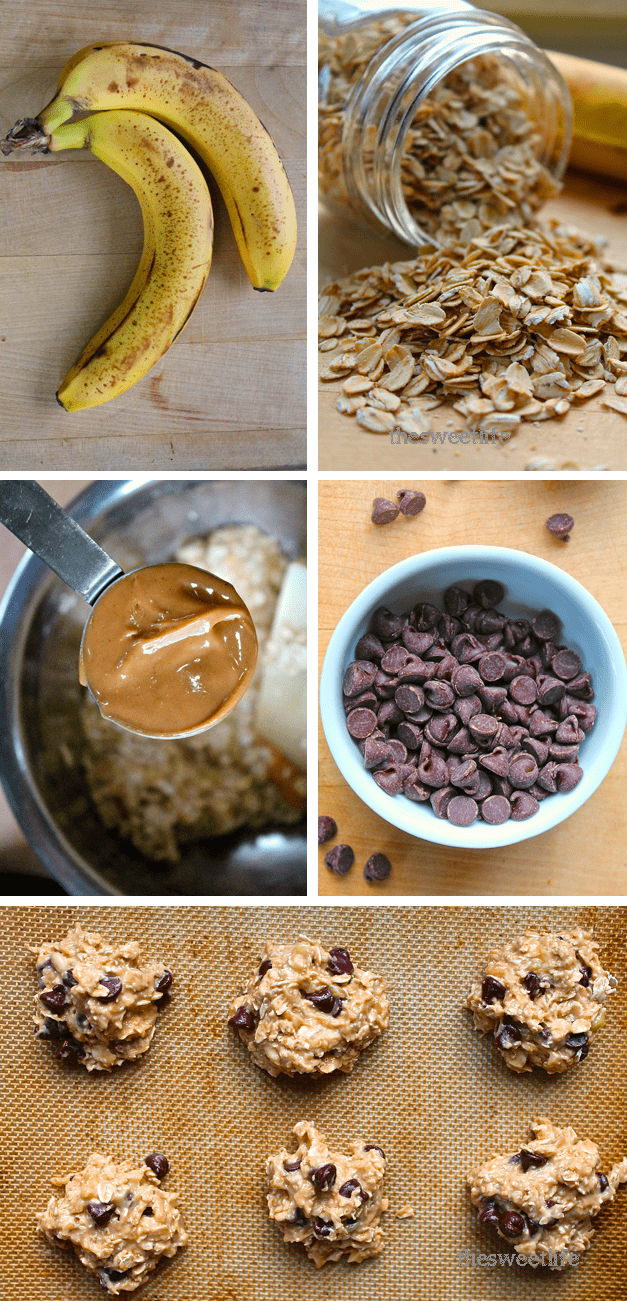 4 ingredient cookies #quickcookies