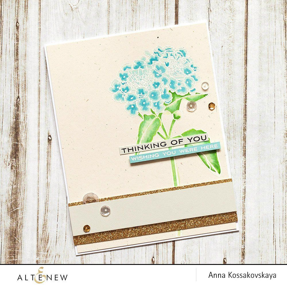 Beautiful Lady Stamp Set - Altenew  - 4