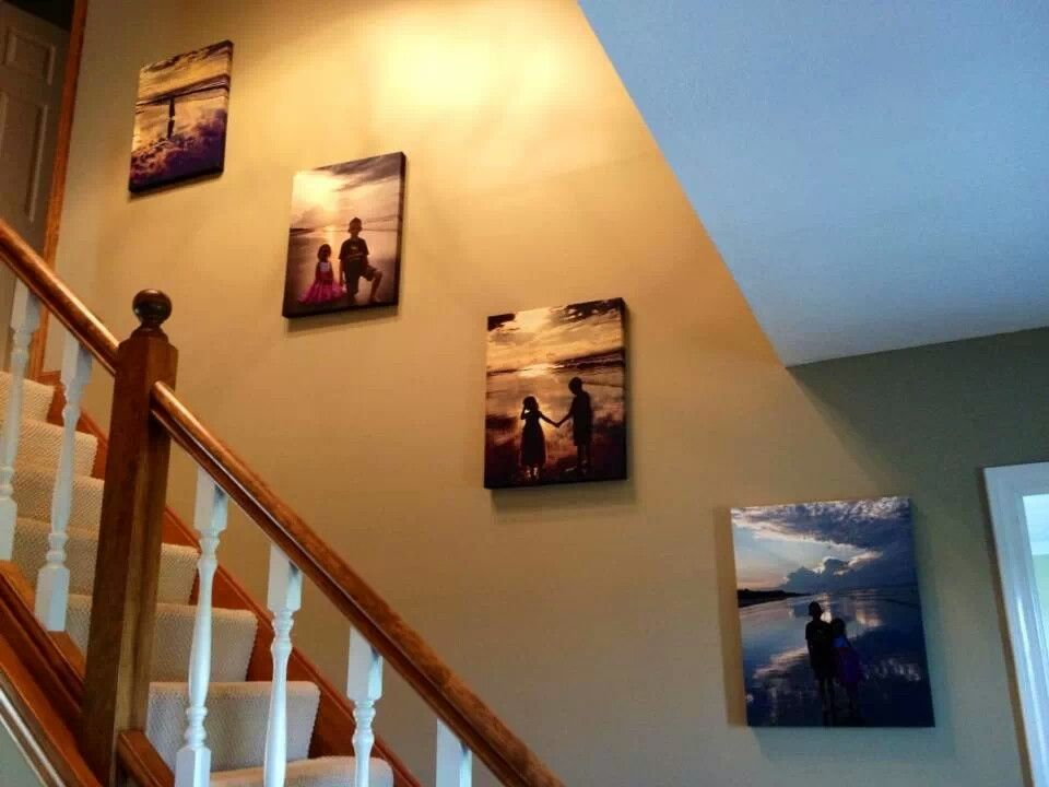 Canvas Pictures Going Up The Stairs Great Idea