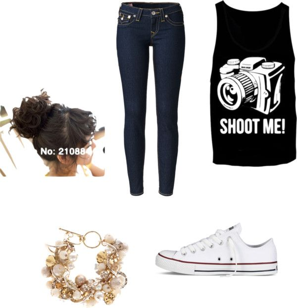 """""""Shoot me!!"""" by simone-nielsen-1 ❤ liked on Polyvore"""
