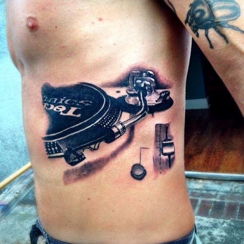 dj tattoos tumblr google search ink pinterest dj tattoo tattoo and music tattoos. Black Bedroom Furniture Sets. Home Design Ideas