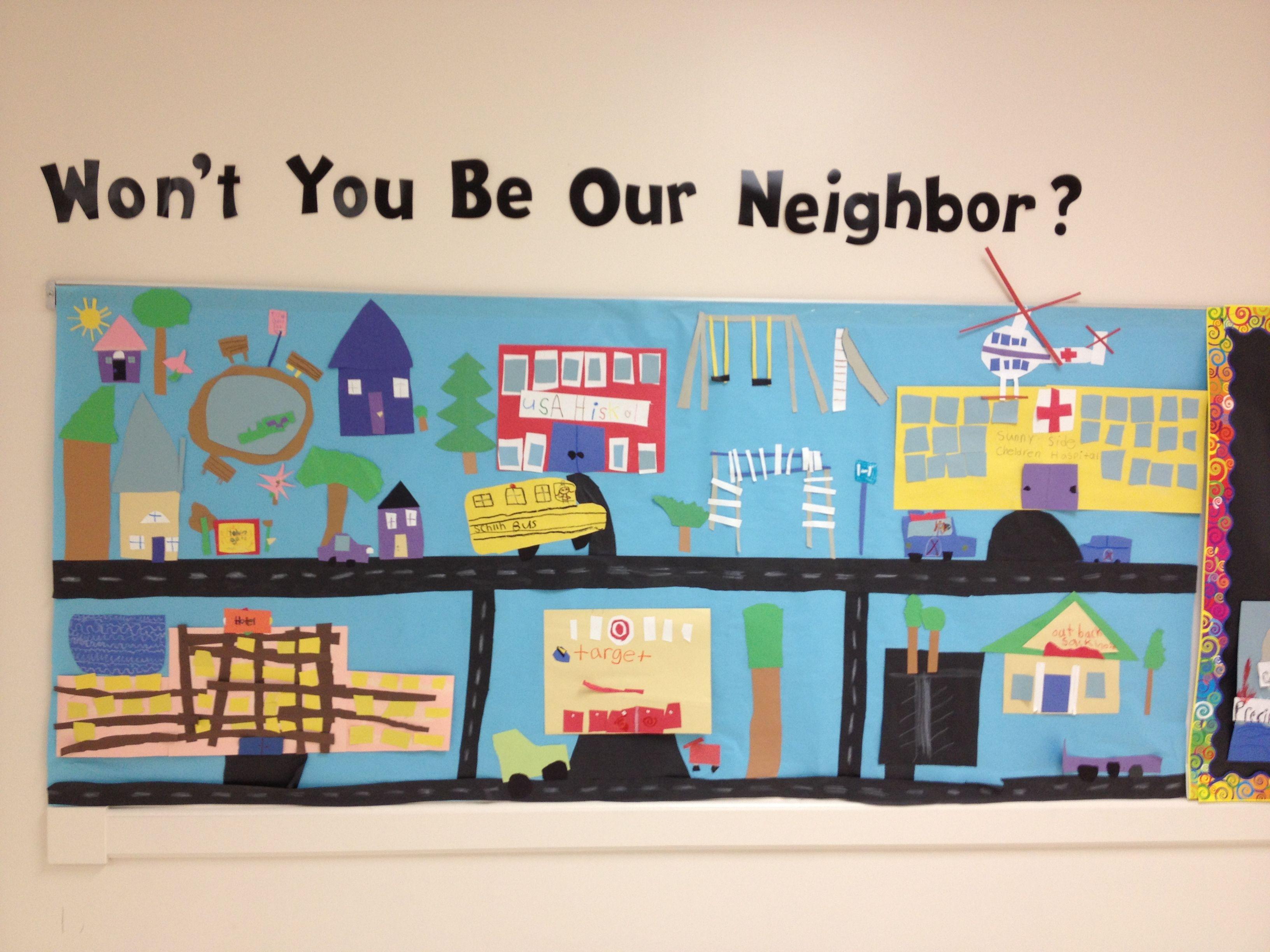 My Neighbourhood Theme For Preschool