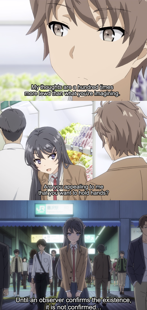 Hi Sakuta Bunny Girl Anime Romance Anime