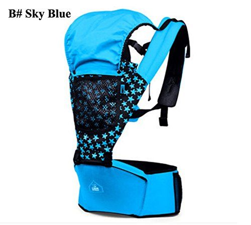 63223b9582d B Baby Kids Child Infant Toddler Newborn Safety Hipseat Hip Seat Front  Carrier Wrap Belt Sling Hugger Rider Harness Strap Support Comfort Backpack  Pack B ...