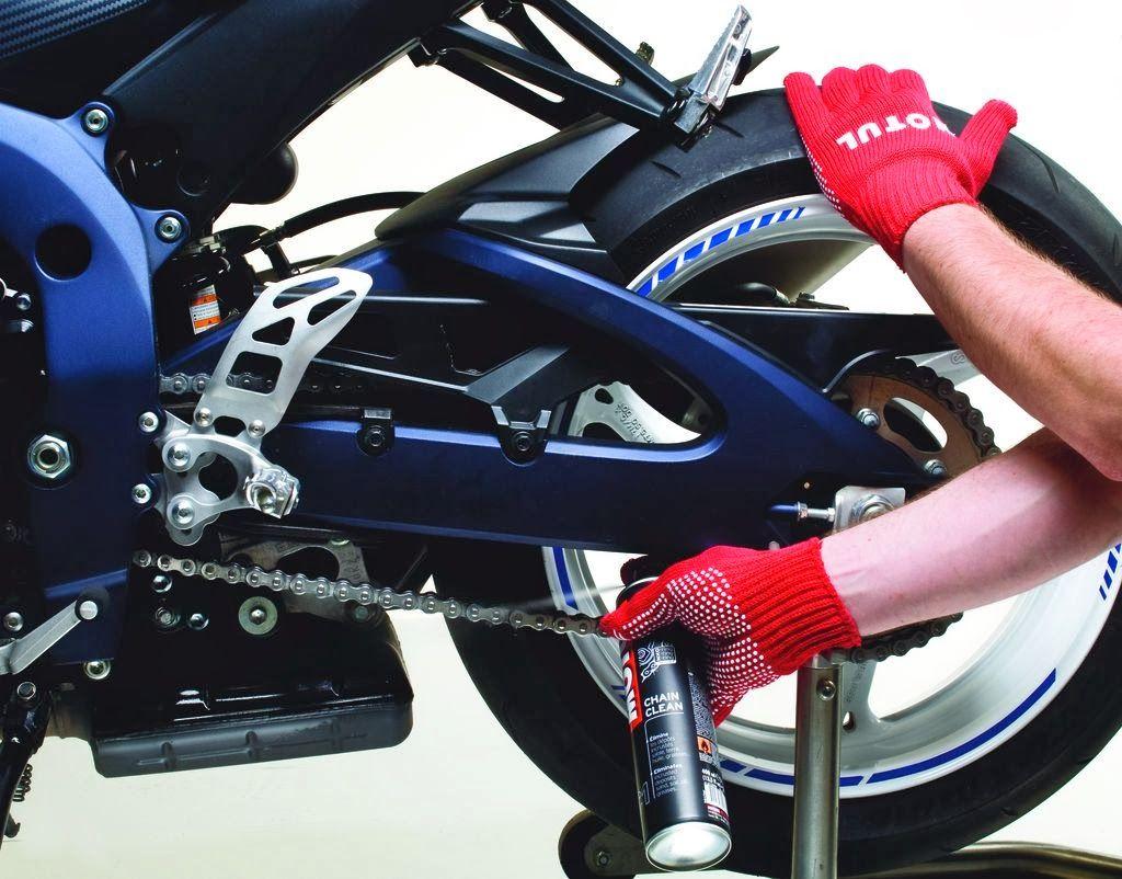 Πως να λαδώσω την αλυσίδα της μοτοσυκλέτας μου? Bike