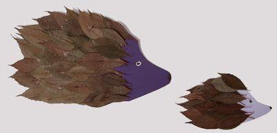 El hada de papel: Erizos 01 / Hedgehog 01 / Igel 01