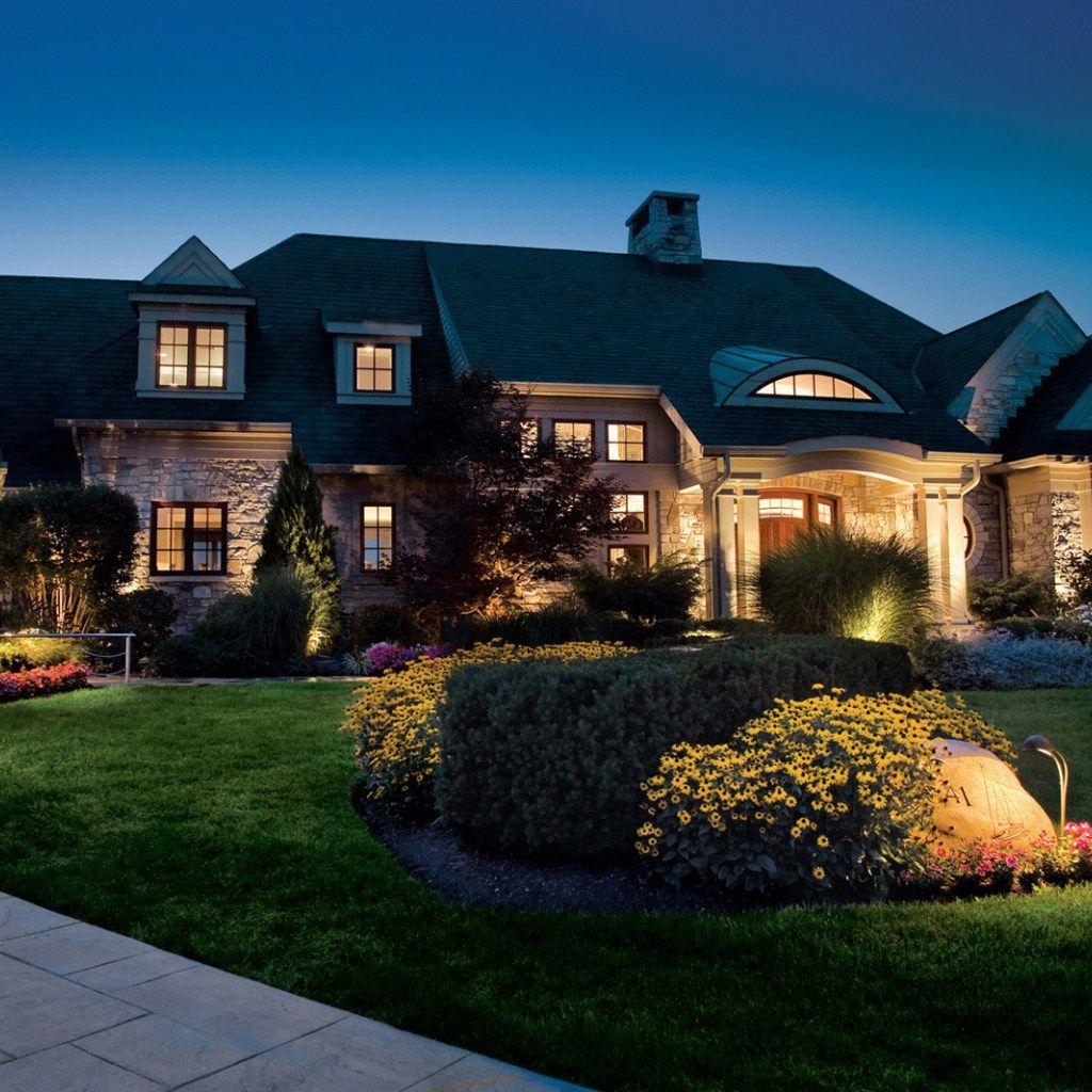 Kichler Landscape Lighting To The Garden Design Led Outdoor Landscape Lighting Landscape Lighting Design Outdoor Landscape Lighting