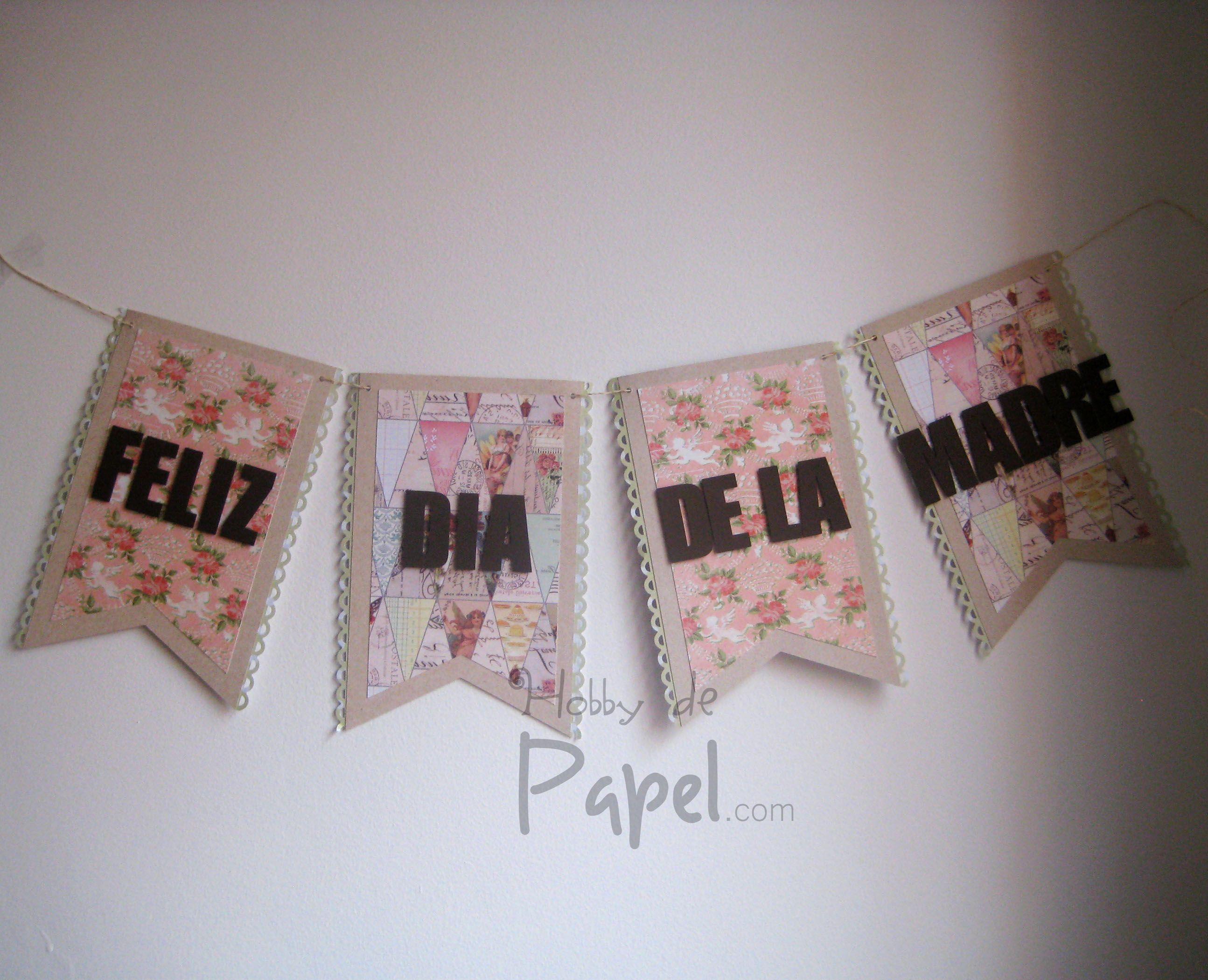 Banner decoraci n d a de la madre mother 39 s day banner - Decoracion dia de la madre ...