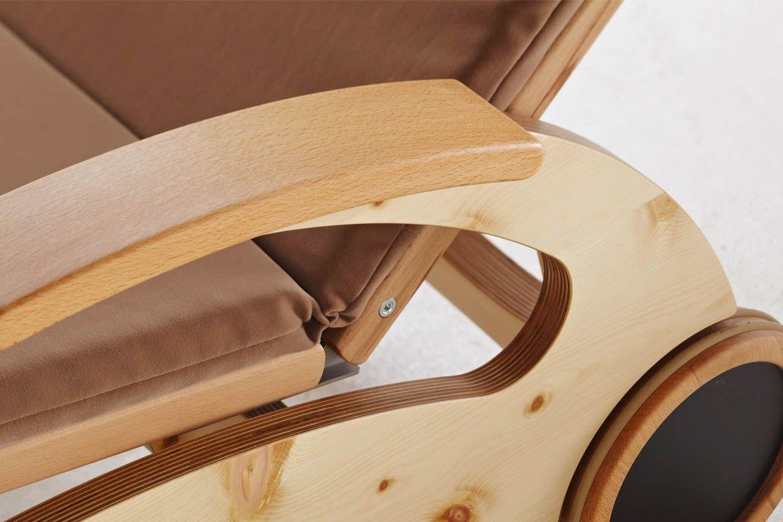 Wellnessliege holz  Wellnessliege Siesta Stabil Natur - First-Class-Holz   Мебель для ...
