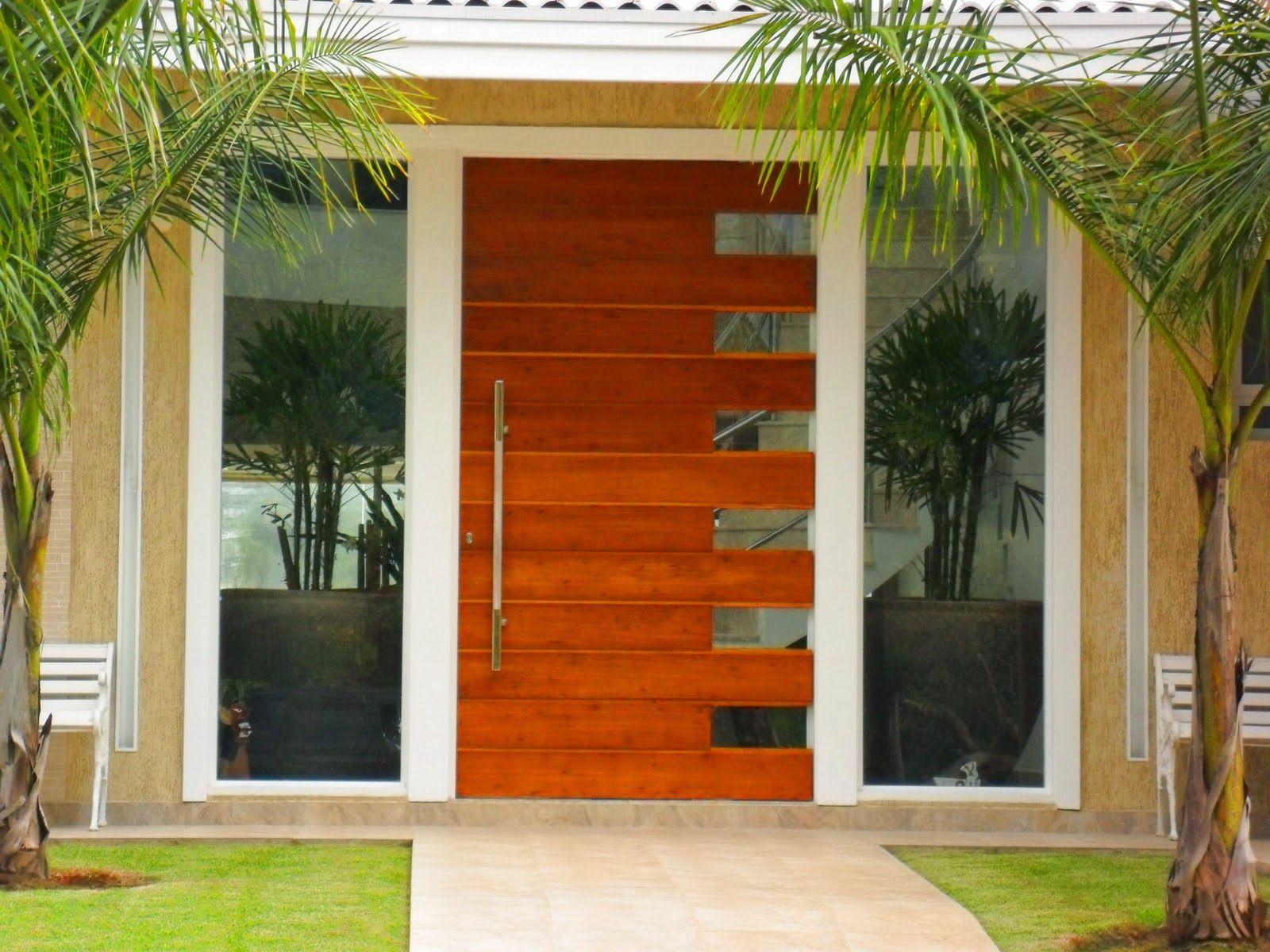 Portas de entrada veja 15 modelos modernos e - Entradas de casas ...