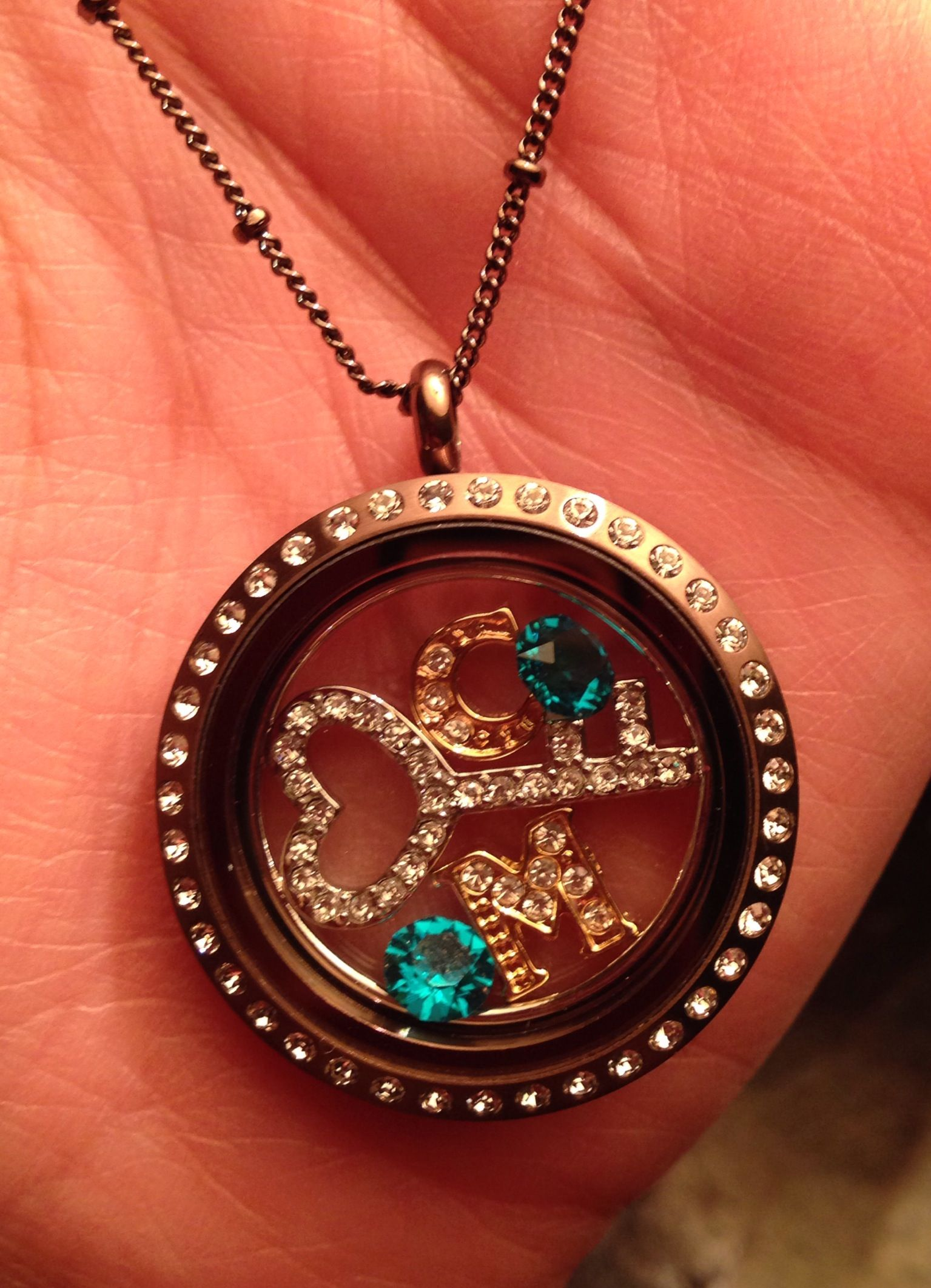 My Mother In Law Made This I Think Is Is Absolutely Adorable Origami Owl Locket Custom Lockets