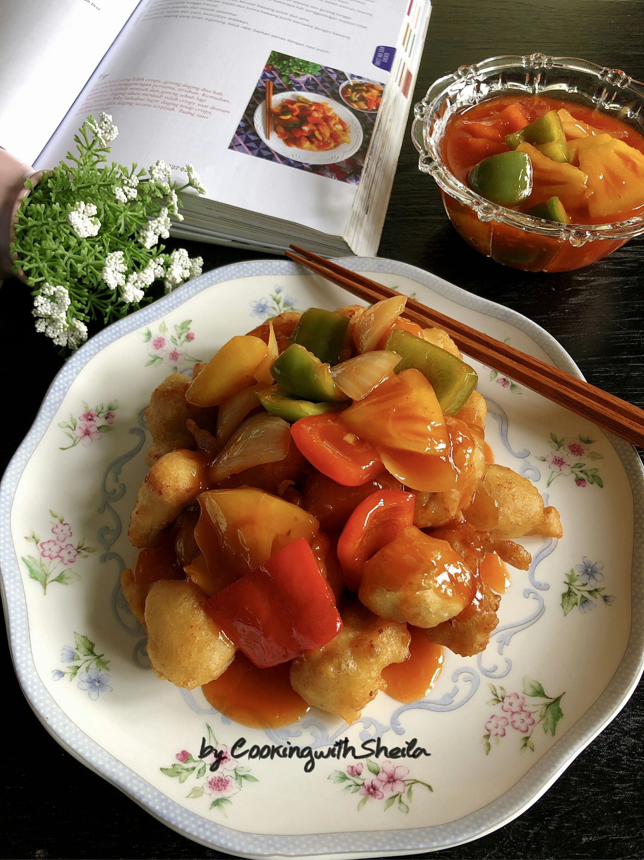 Sweet And Sour Chicken Koloke Ide Makanan Resep Masakan Masakan