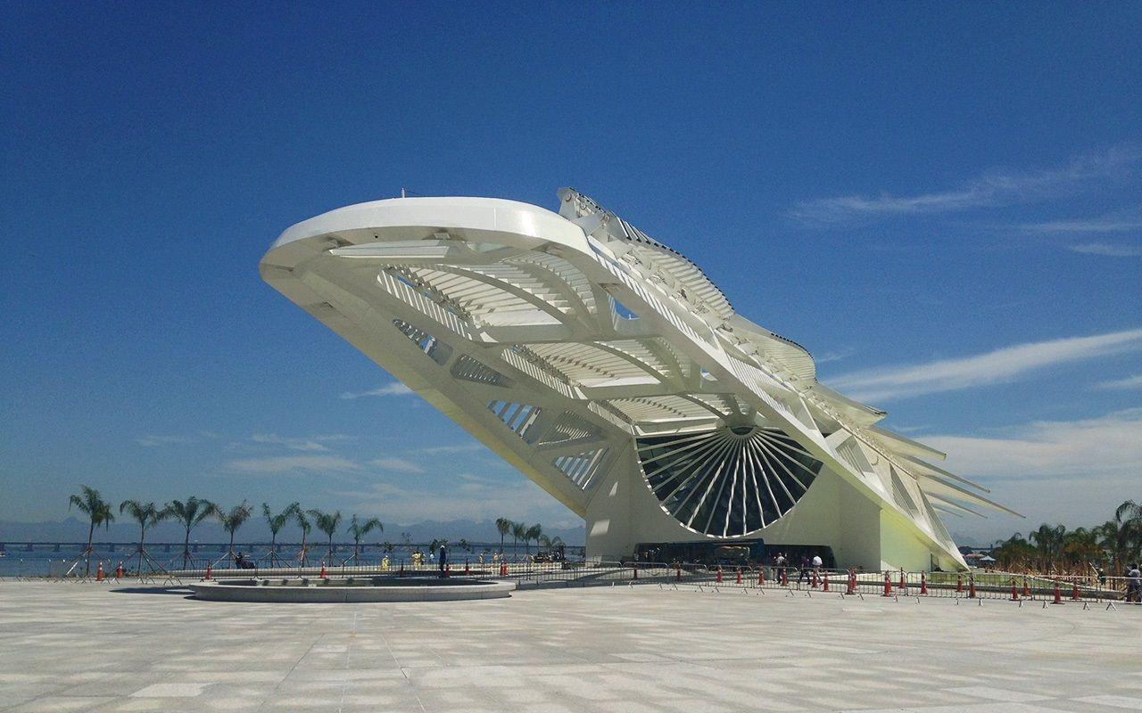 Museu do Amanhã no Rio de Janeiro.