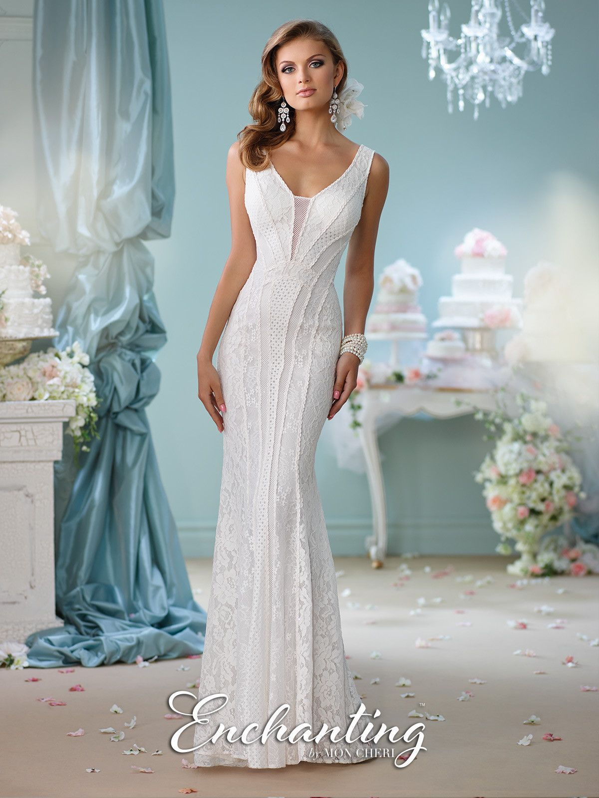Enchanting all dressed up bridal gown enchanted