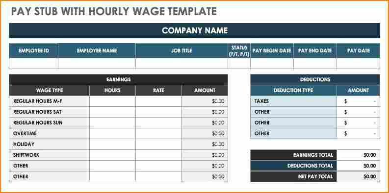 8 pay stub creator free secure paystub templates free