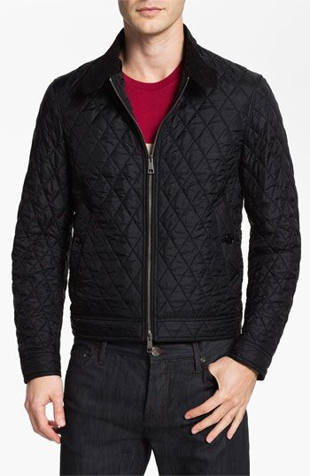 Burberry Brit Howson Quilted Bomber Jacket Bomber Jacket Brown Bomber Jacket Jackets