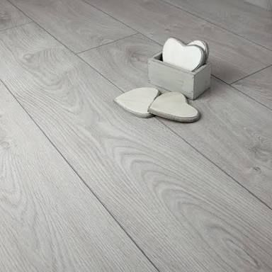 Oak Light Grey Laminate Flooring | Our new home ...