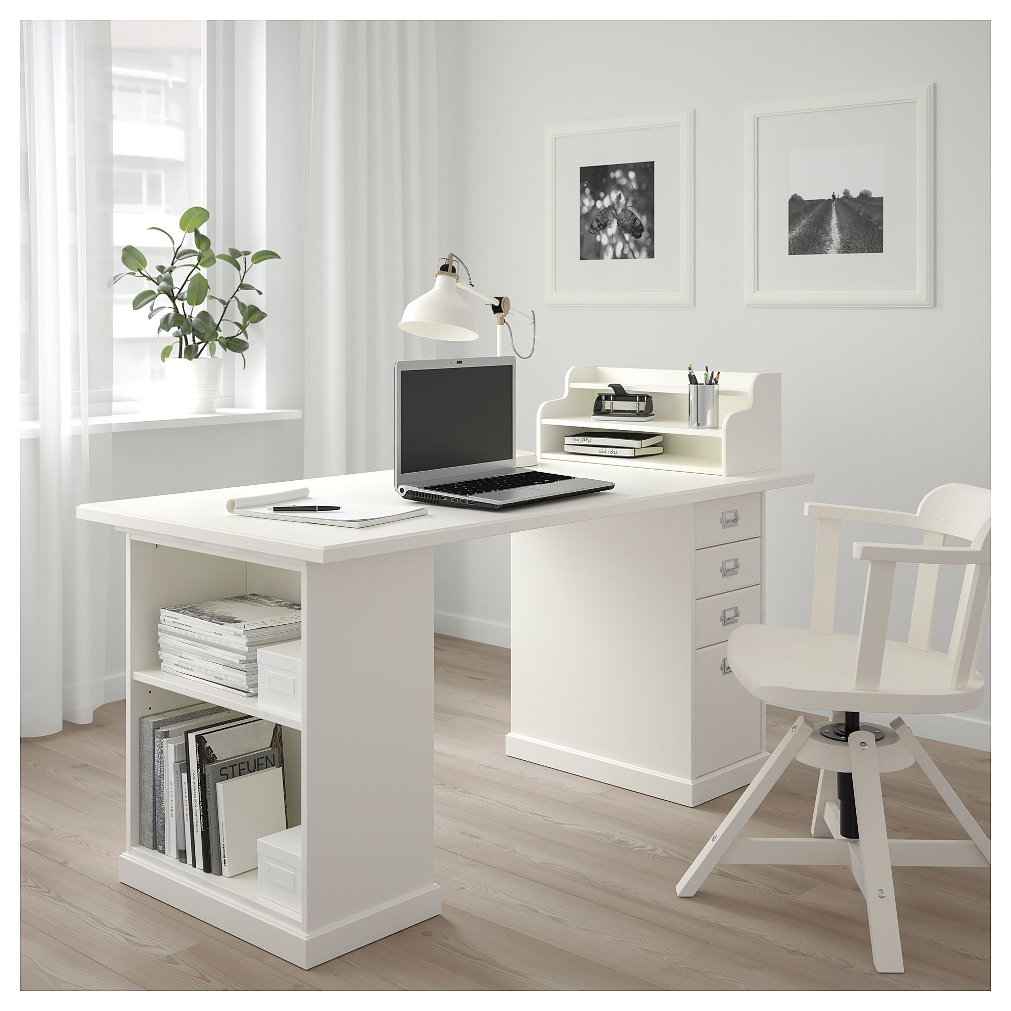 Klimpen Table Gray Light Gray 150x75 Cm Shop Ikea Ca Ikea Home Office Furniture Cheap Office Furniture Home Office Design