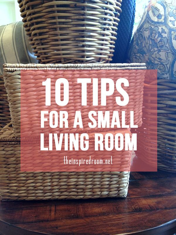 10 Tips for a More Spacious Living Room | Small living rooms, Small ...