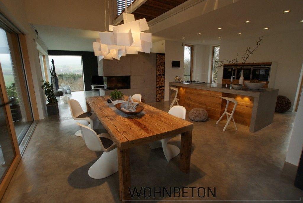Wohnbeton   Möbel, Böden Und Wände Aus Beton