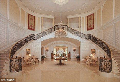 petra ecclestone stripping her new $85million home of candy
