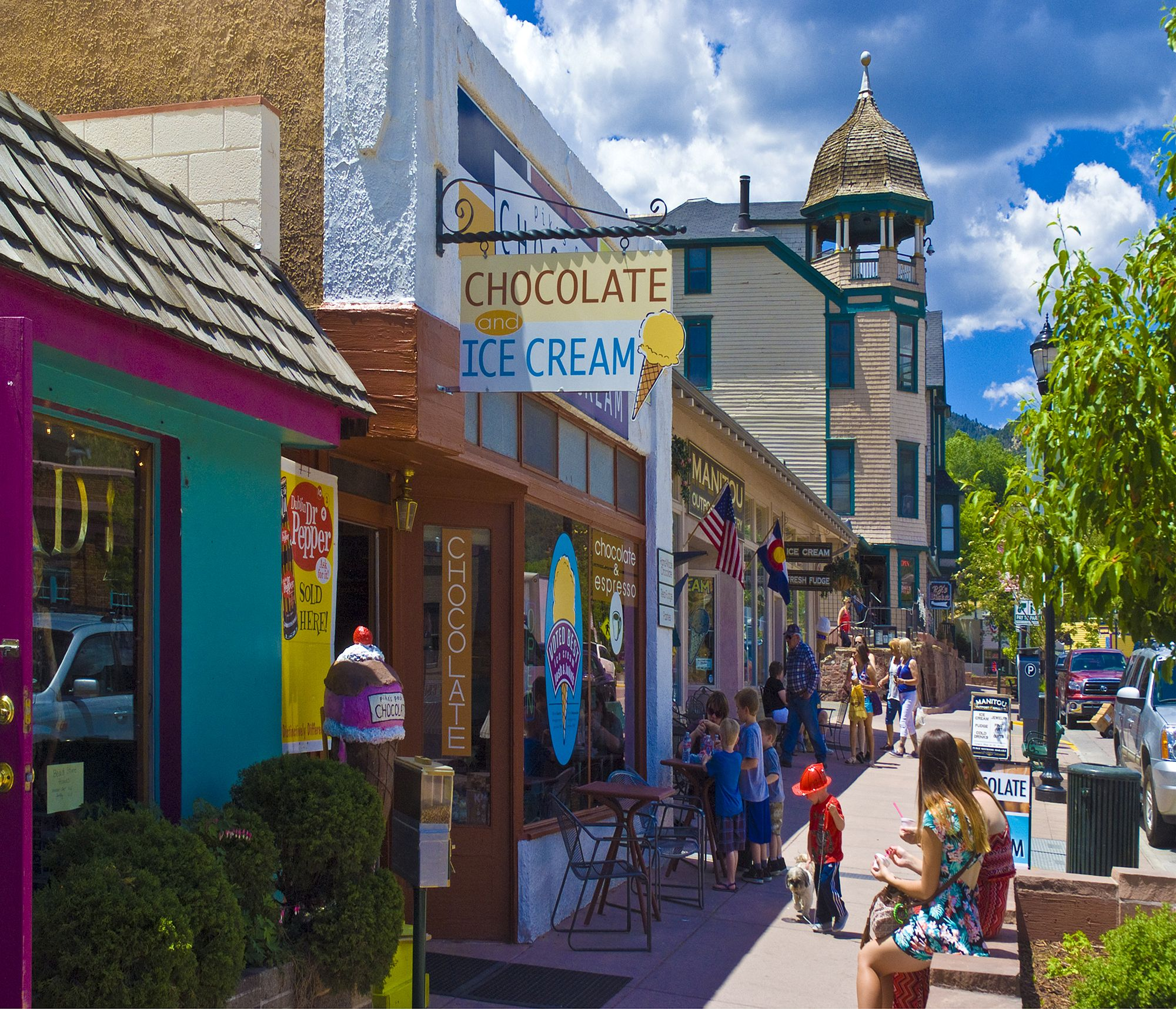 Shop Dine Stay Play In Historic Manitou Springs