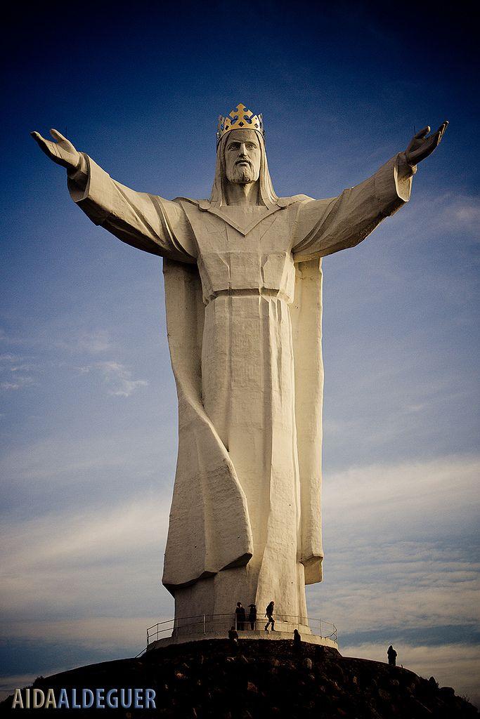 Jesus Statue In Polen