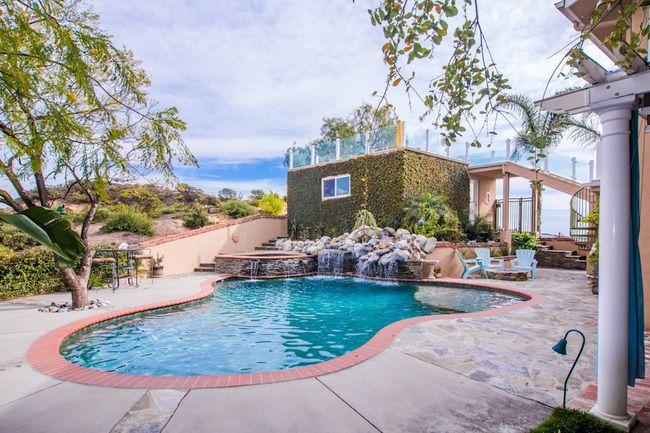 Pardee Properties - Private Backyard with Saltwater Pool in Topanga, CA