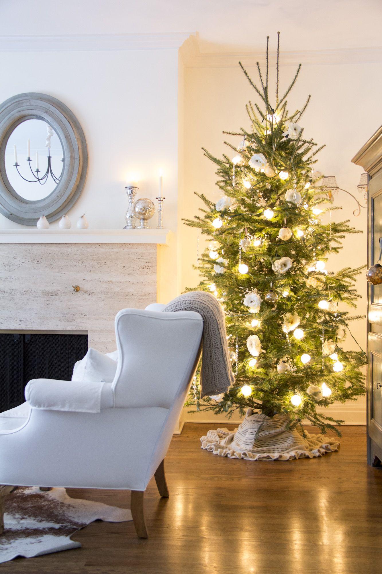 Neutral christmas myhouse pinterest holidays tree skirts and