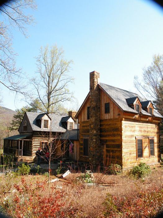 Photo Gallery - Traditional Hand Hewn Log HomesCustom Designed and Handcrafted