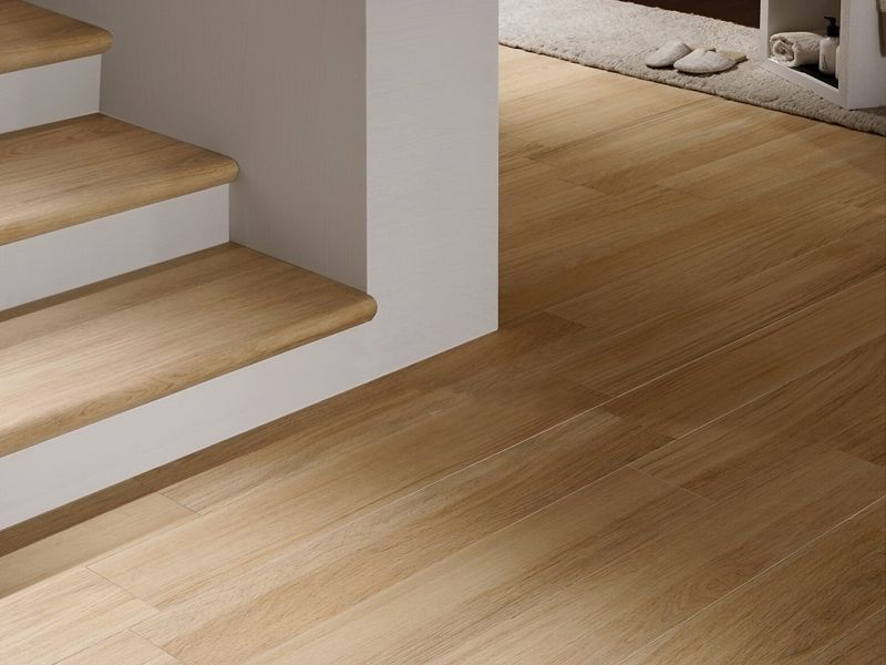 Pavimento de gres porcel nico imitaci n madera doghe by for Encimera gres porcelanico