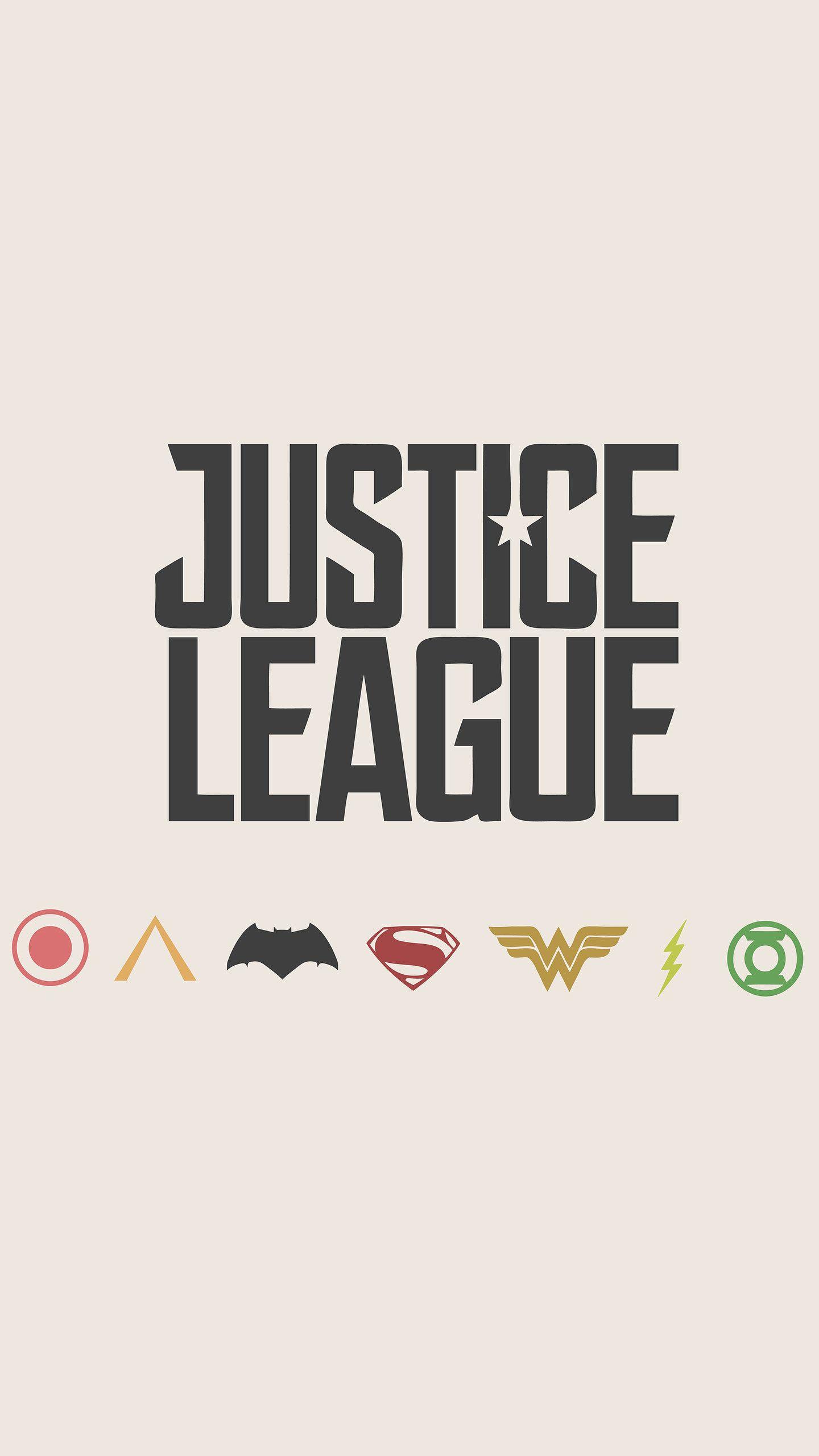 Justice League Minimalism Logos 4k Hd Superheroes Wallpapers Photos And Pictures Id 27339 Herois Desenhos Papeis De Parede Tumblr