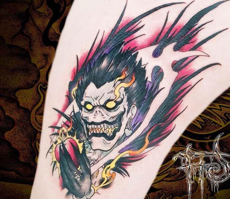 Small Shinigami Tattoo