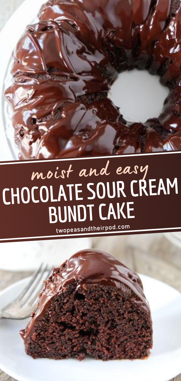Chocolate Sour Cream Bundt Cake In 2020 Homemade Cake Recipes Chocolate Cake Recipes Homemade Cake Recipes