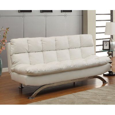 Javier Futon Sofa Upholstery White Http Delanico Com Futons