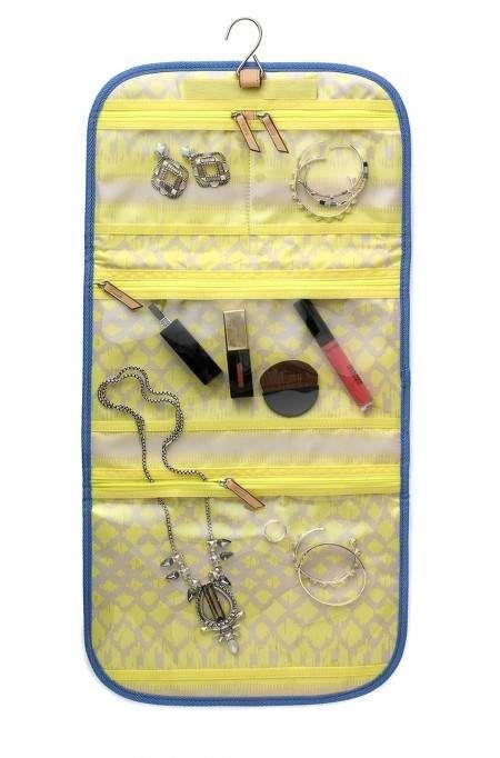 Indigo Stripes Hang On Travel Pouch Stella Dot Bags More