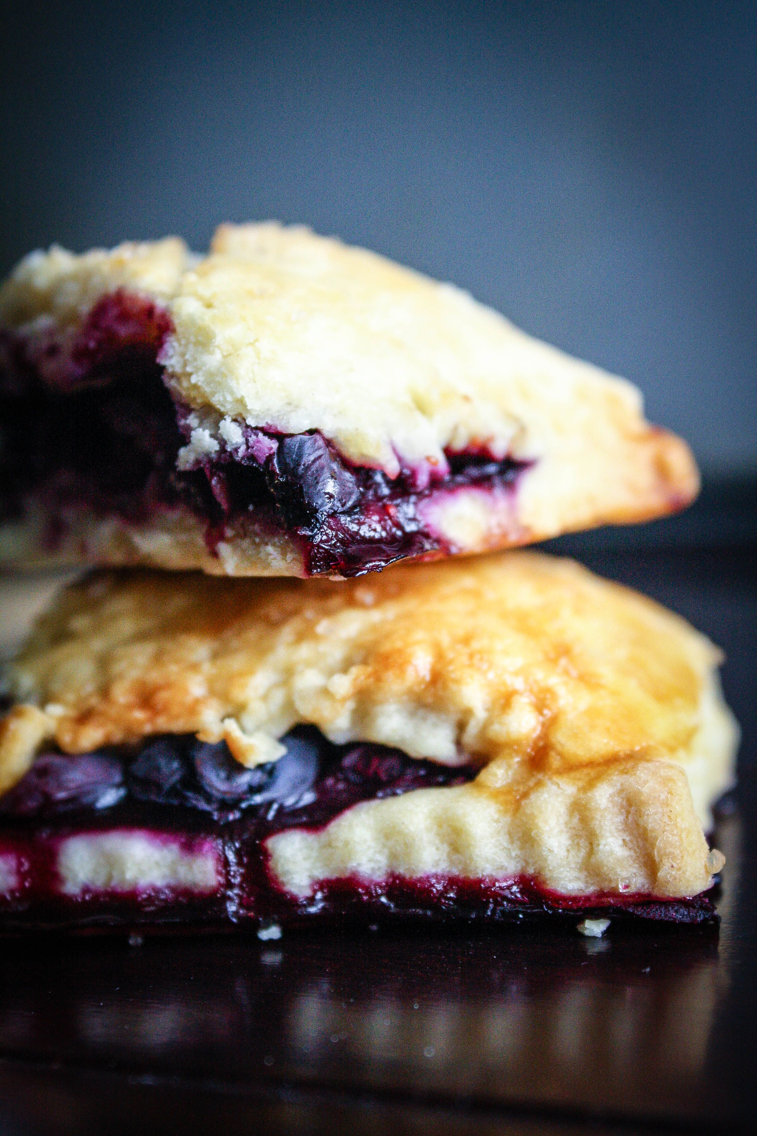 blueberry hand pies from Bon Appetit | Food, Recipes