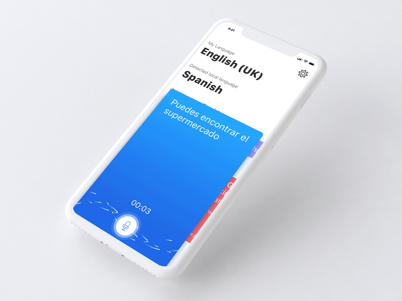 "Check out this Behance project ""Voice language"