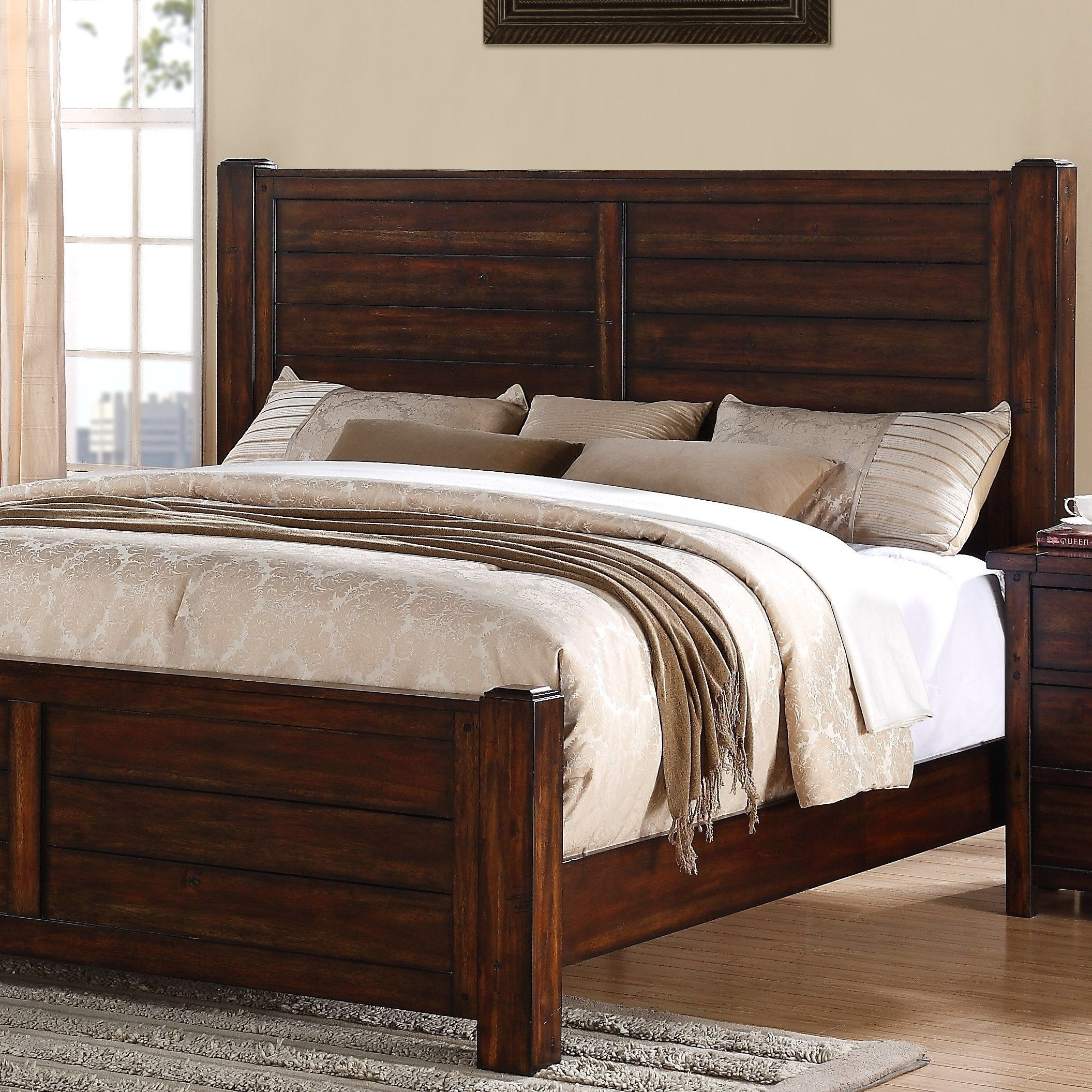 Best Dawson Creek Panel Bed Bedroom Furniture For Sale 400 x 300