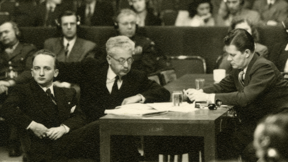 Benjamin Ferencz started his legal career in the spotlight — his first trial was as a chief U.S. prosecutor of the Nazi extermination squads in Nuremberg. Since then, he's spent seven decades fighting for peace and international justice.