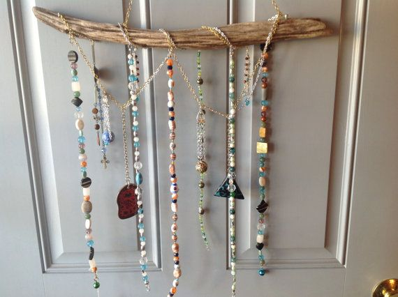 Mobile with Driftwood Large Focal Beads in a Clacker W4 by BonKim