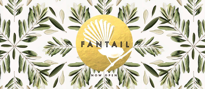 Fantail logo image logo images symbols lettering
