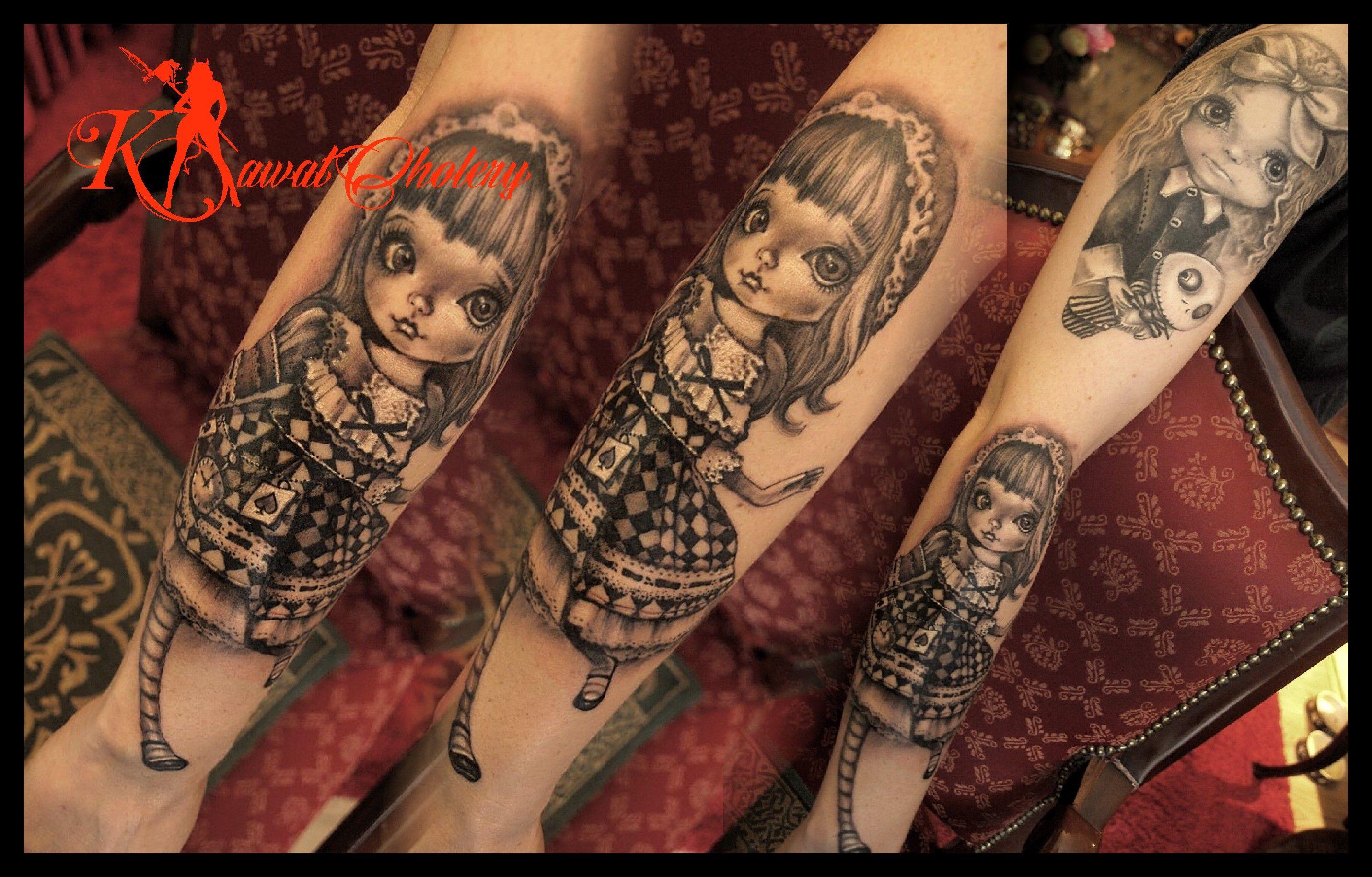 Tattoo Tatuaż Elbląg Elbląg Kawał Cholerydoll