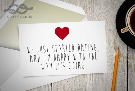 First valentine s day just started dating