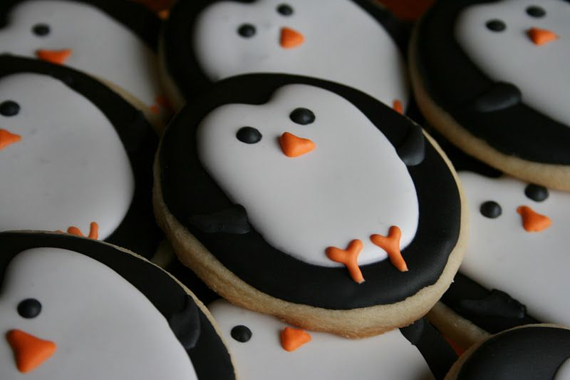 Round Sugar Cookie Decorating Ideas   Winter Wonderland Birthday     Round Sugar Cookie Decorating Ideas   Winter Wonderland Birthday Party  Decorated  Sugar Cookies  Cake